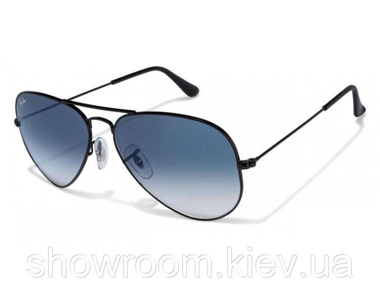 Мужские солнцезащитные очки в стиле RAY BAN aviator 3025 (002/3F) Lux