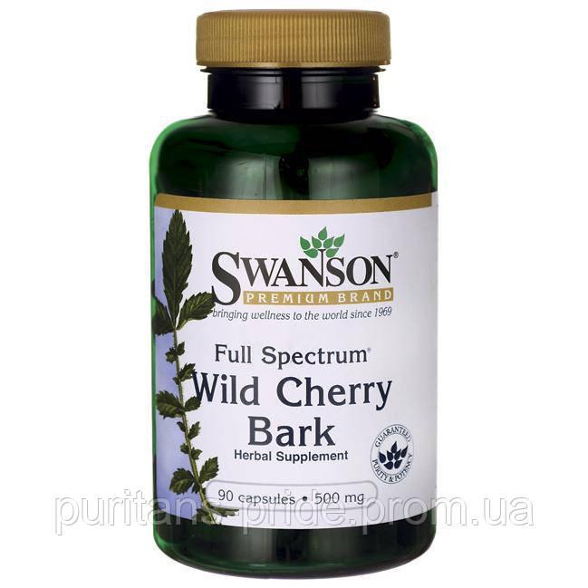 Swanson Full Spectrum Wild Cherry Bark 500 mg 90 Caps