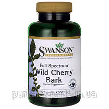 Swanson Full Spectrum Wild Cherry Bark 500 mg 90 Caps