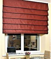"""Модель римских штор """"Каскад"""" - крепление на стену, фото 1"""