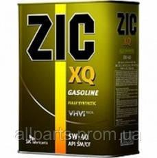 Моторное масло Zic XQ 5W-40 (Канистра 4 литра) универсальное (бензин + дизель)