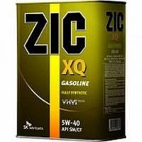 Моторное масло Zic XQ 5W-40 (Канистра 4 литра) универсальное (бензин + дизель), фото 1