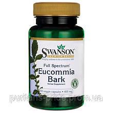Swanson Full Spectrum Eucommia Bark 400 mg 60 Veg Caps