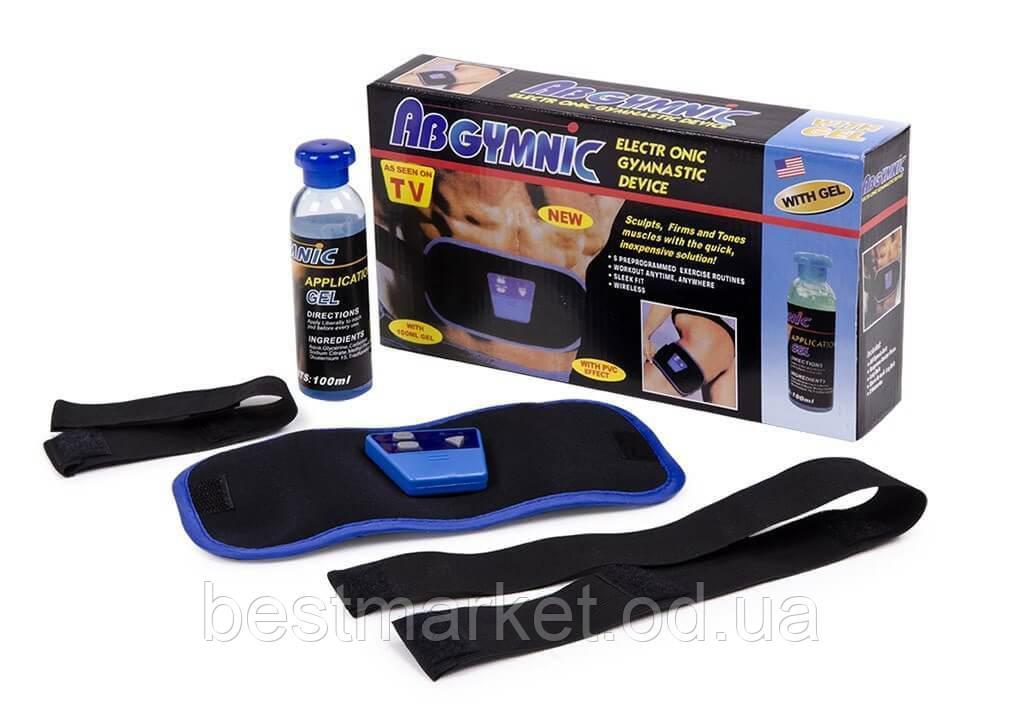 Миостимулятор Пояс для Похудения Ab Gymnic + Гель