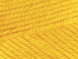 Нитки Cotton Gold Plus 216 желтый