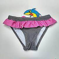 Пляжные детские плавки на девочку