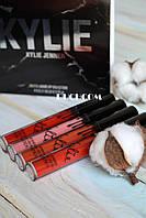 МАТОВАЯ водостойкая ПОМАДА для губ Kylie Cosmetics Matte Lipstick Набор 4 шт, фото 1