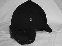 Легендарная кепка CP Company black. Google cap