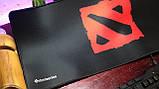 Геймерский коврик, игровая поверхность Dota 2 Logo 30х70см, фото 2