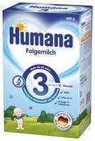 Молочная сухая смесь Humana 3, 600 г (с 10 месяцев)