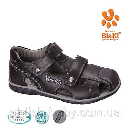 Детская коллекция летней обуви 2018. Детские босоножки бренда Tom.m (Bi&Ki) для мальчиков (рр. с 33 по 38), фото 2