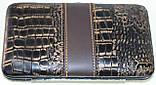 Маникюрный набор из 10 предметов, коричневый с ричунком, фото 5