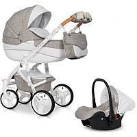 Детская коляска 2 в 1 Brano Luxe