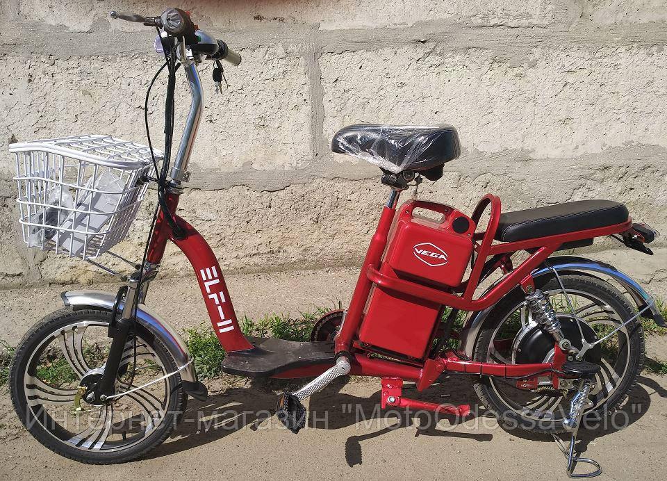 Электрический велоскутер ELF2- 2019