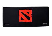 Геймерский коврик, игровая поверхность Dota 2 Logo 30х70см, фото 1