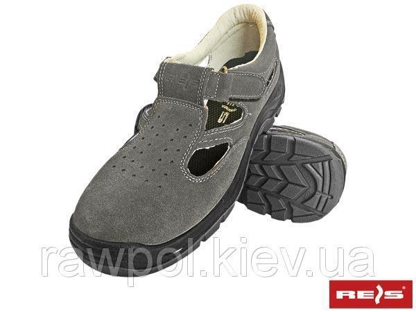 Сандали с метноском универсальные REIS Польша (обувь защитная) BRAVEL-S1 SB