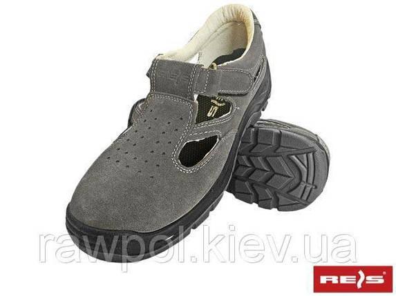 Сандали с метноском универсальные REIS Польша (обувь защитная) BRAVEL-S1 SB, фото 2