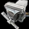 Тиски поворотные 125 мм / 5″ слесарные с наковальней Champion CP-422, тиса, тіски, лещата слюсарні поворотні