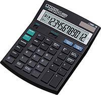 Citizen CT-666N калькулятор бухгалтерский с коррекцией, 12р.