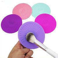 Силіконовий килимок для очищення кистей BrushEgg, фото 1