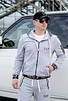 Спортивный костюм Armani с капюшоном.Супер качество