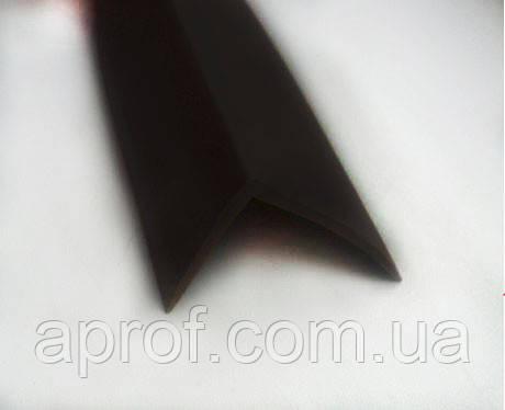 Резиновый уголок 40х30х2 (гладкий)