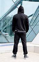 Мужской спортивный костюм  Armani с капюшоном.