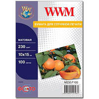 Бумага WWM 10x15 (M230.F100)