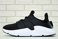 Кроссовки Adidas Prophere, цвет черный на белой подошве