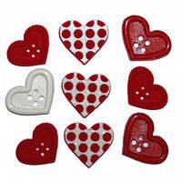 3510 Декоративні гудзики. Подарунок любові