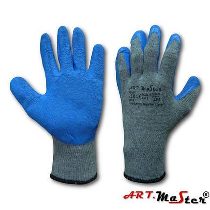 Трикотажные рабочие перчатки RWgrip с латексом, фото 2