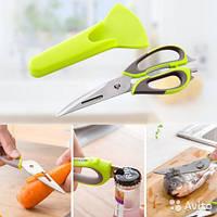 Ножницы кухонные многофункциональные Mighty Shears10в1, 21 см.