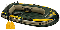 Двухместная надувная лодка 236*114*41