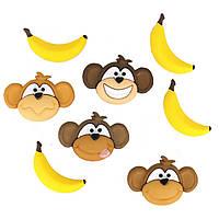 5802 Фігурки.Мавпи і банани