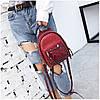 Рюкзак женский Briana Paillettes красный, фото 3