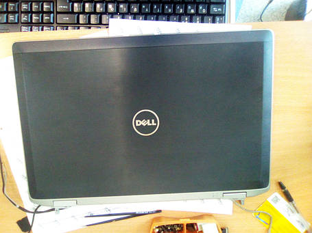 Крышка матрицы+рамка с начинкой Dell latitude E6520, фото 2