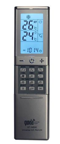 Универсальный пульт для кондиционеров QUNDA KT-N898, фото 2