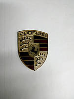 Эмблема PORSCHE металл  58х69 мм