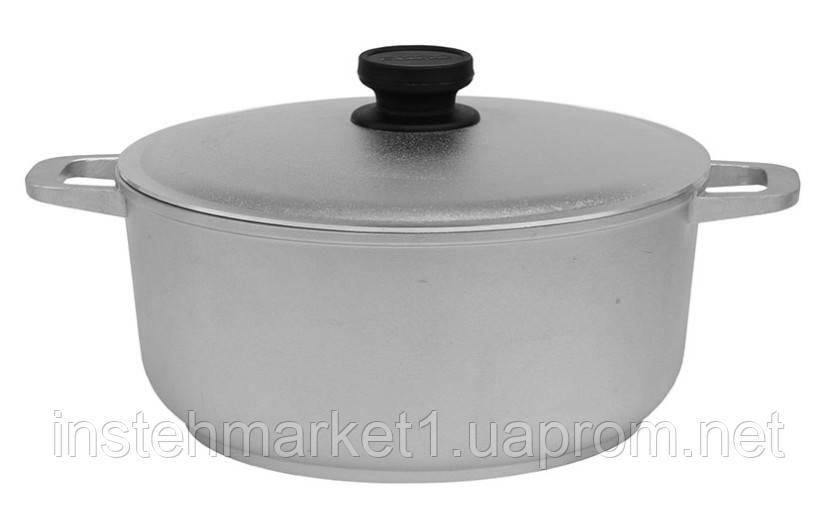Каструля БІОЛ К301 (3 л) алюмінієва з потовщеним дном і кришкою
