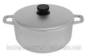 Каструля БІОЛ К301 (3 л) алюмінієва з потовщеним дном і кришкою, фото 3