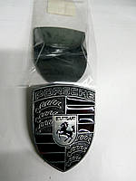 Эмблема PORSCHE металл  52х70 мм