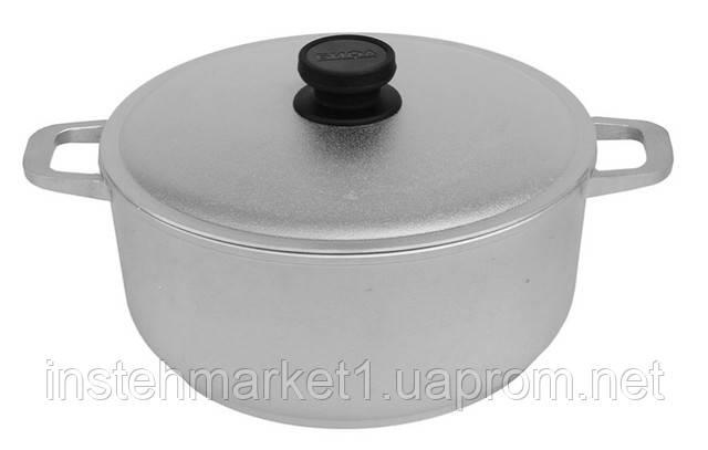 Каструля алюмінієва з потовщеним дном БІОЛ К301 з кришкою 3 л в інтернет-магазині