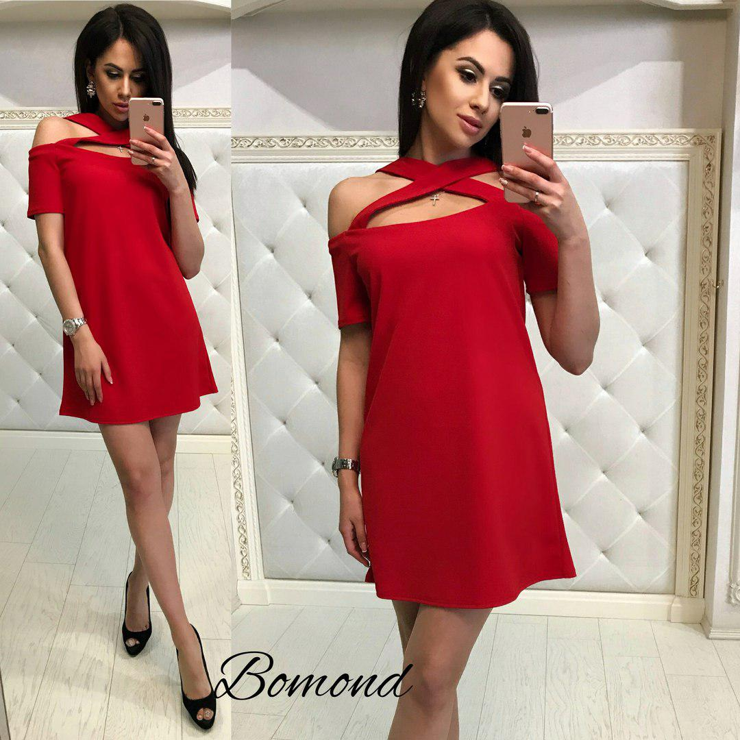Короткое летнее платье / 4 цвета  арт 4934-503