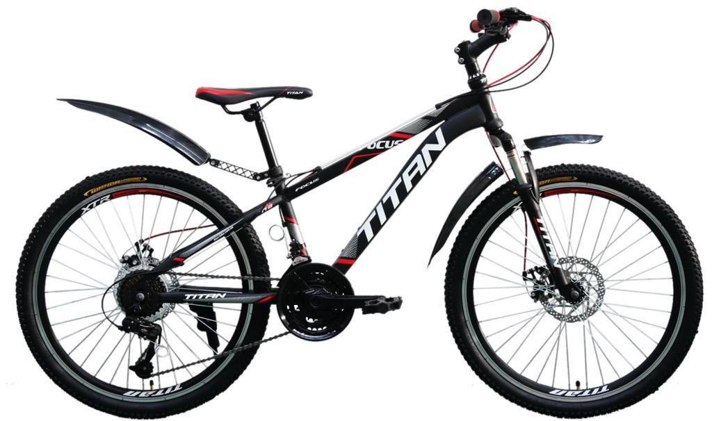Горный подростковый велосипед Titan Focus 24