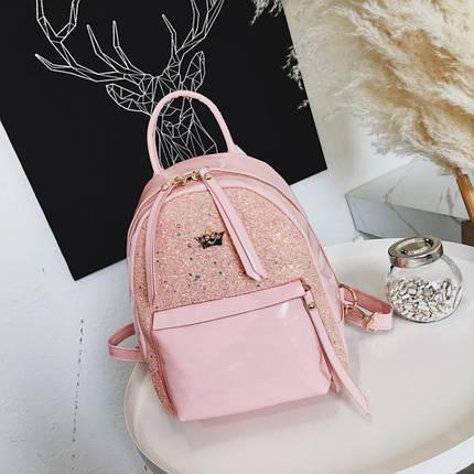 Рюкзак женский Briana Mis розовый eps-8215, фото 2