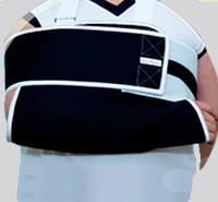 Повязка на локоть с полужесткой фиксацией плеча при травме ключицы