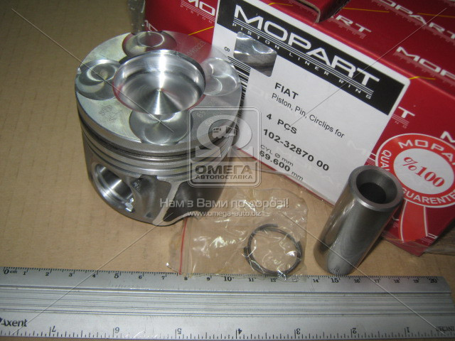 Поршень FIAT 69.60 1.3JTD 16V 03- (Mopart) 102-32870 00