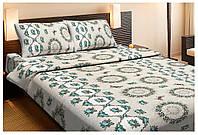 Постельное белье Lotus Ranforce - Pamela зеленый полуторное