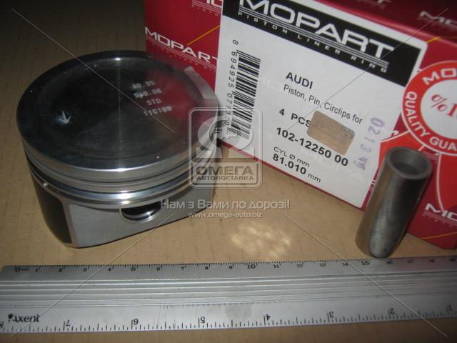 Поршень VAG 81.01 1.8T 20V AWT/AJQ d19 (Mopart) 102-12250 00