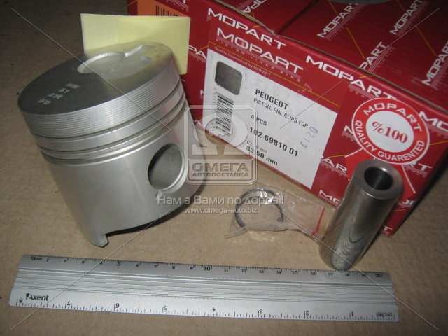 Поршень PSA 83.50 1.9D XUD9 (Mopart) 102-69810 01